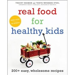 real food for healthy kids book cover