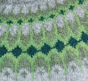Asymptote sweater - greens