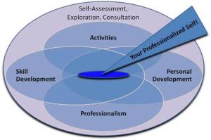 Professional Development Diagram