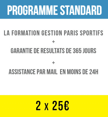 FORMATION STANDARD 2x25
