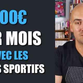 300€ par mois avec les paris sportifs