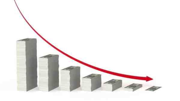 Chute de cote = chute du bénéfice