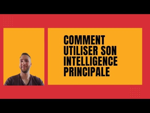 Comment utiliser son INTELLIGENCE PRINCIPALE