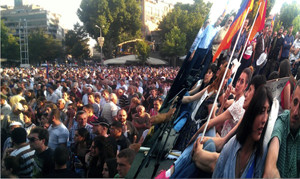 Protesters vowed to stay put until June 22 (Photo: Serouj Aprahamian)