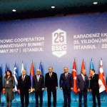 Unfriendly exchanges between Armenians and Azeris at the summit of the Black Sea