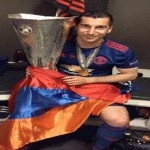 """Henrikh Mkhitaryan """"I dedicate this cup of Europe to my family in Manchester and all Armenians"""""""