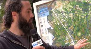 Wally Sarkeesian Touring Historical Armenian Village ANJAR Lebanon Video