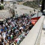 Protests rage on as Israel tightens grip on Aqsa