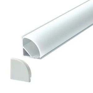 Profile Surface Led width 15.8mm / height 15.8mm Angled