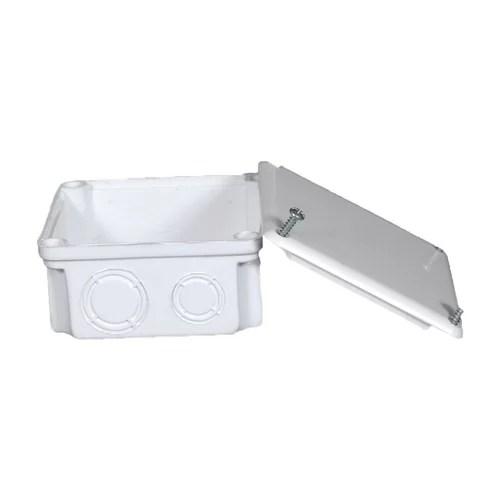 بواط بيت الهندسة 10×10 UPVC بالغطاء (اللون أبيض)