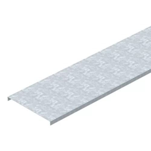 غطاء مجري كابلات لينز صاج مجلفن 20×1.5 سم