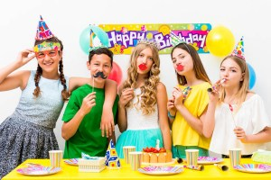 teenagers party