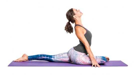Image result for Pigeon Pose