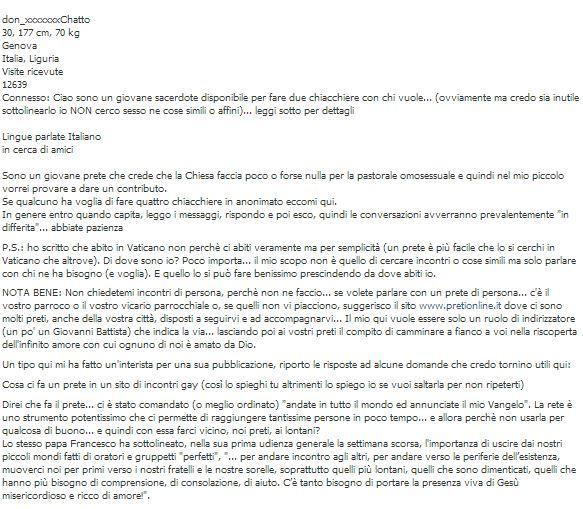 Email Prete Sito Gay