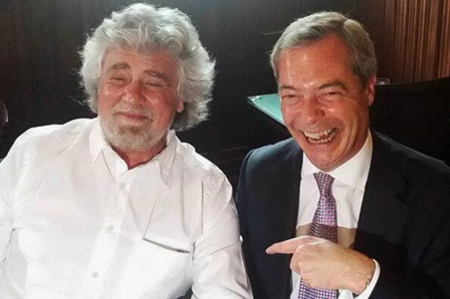 Beppe Grillo 22 Farage Ukip