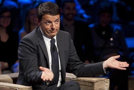 Matteo Renzi ospite alla trasmissione Ballarò