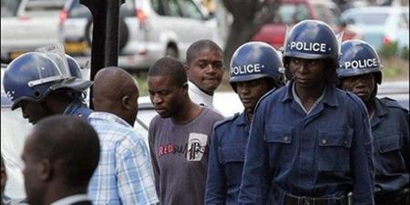 Zimbabwe Polizia Antisommossa 2008