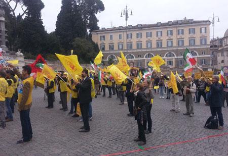 Iran Manifestazione Roma 14-11