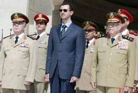 Bachar Al Assad Generali