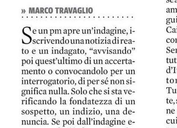 Marco Travaglio 02 avviso di garanzia