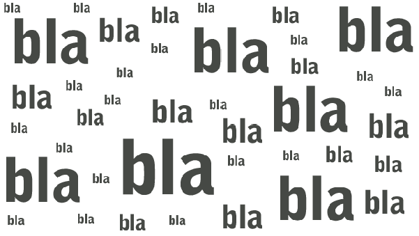 bla-bla-bla-bla