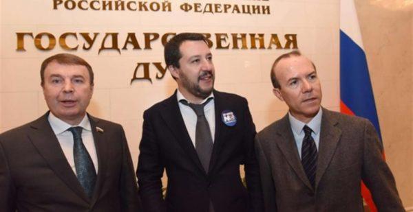 Salvini non sapeva che D'Amico consigliere di Salvini aveva invitato Savoini alla cena di Putin?