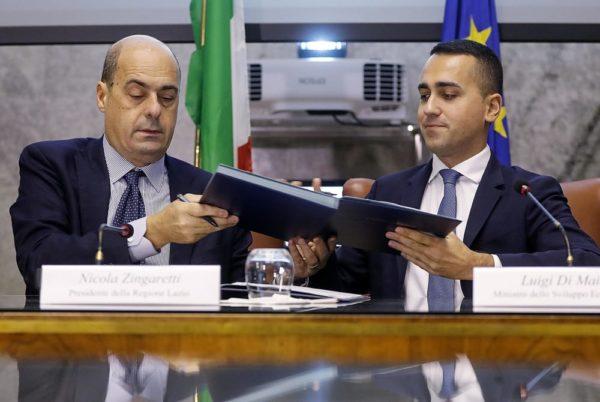 Il contrattino del segretarino Zingarettino