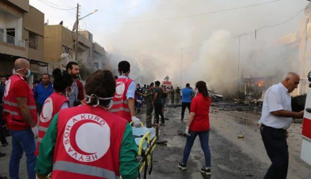 """Erdogan bombarda due ambulanze dell'ONG italiana """"Un Ponte per…"""""""