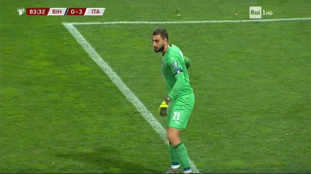 L'Italia vince con merito contro la Bosnia: 3-0