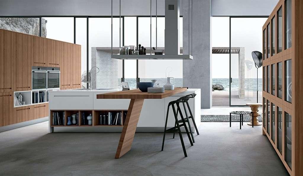 Arredare soggiorno e cucina insieme progetti