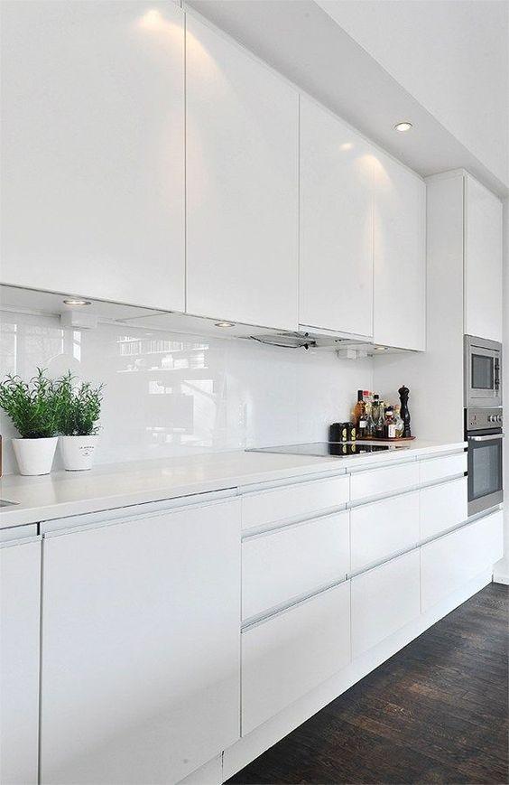 Cucine Moderne Bianche Foto.Come Arredare Una Cucina Moderna Bianca 100 Immagini Mozzafiato