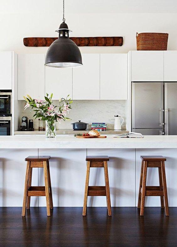 come arredare una cucina moderna bianca