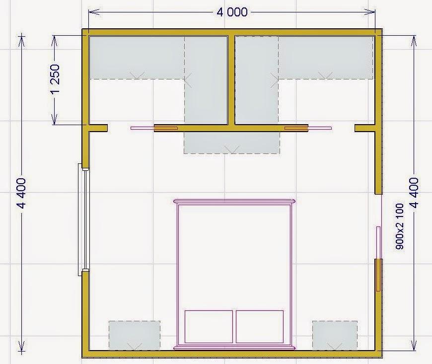 Progettare una cabina armadio