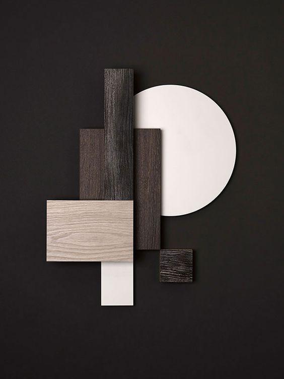 Arredare con il legno dark