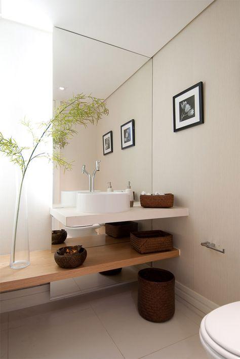 Arredare un bagno piccolo con gli specchi
