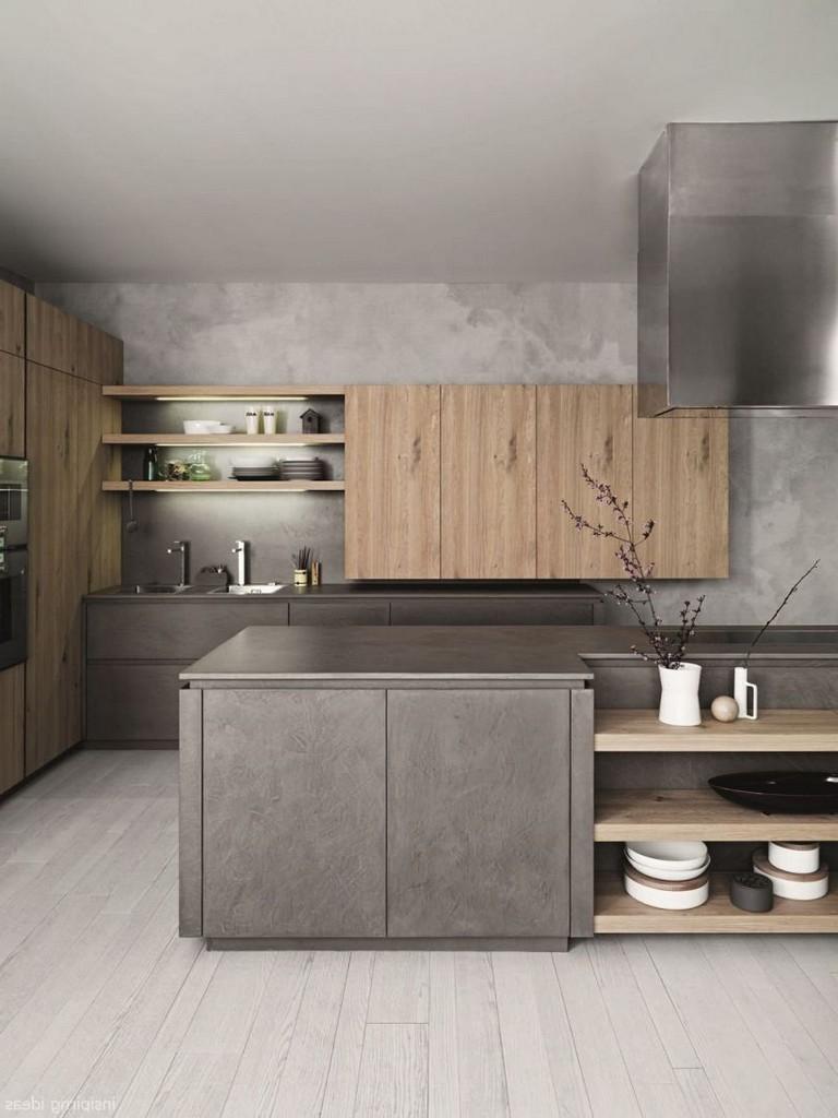 Cucine Moderne In Rovere Grigio.Hai Una Cucina Grigia Ecco Gli Arredi E I Complementi Che