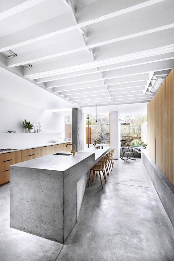 cucina cemento