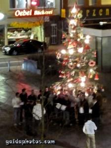 Weihnachtslieder in Köln Rodenkirchen