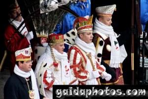 Karneval in Köln Rodenkirchen: Dreigestirn 2010