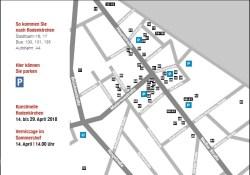 16. Rodenkirchener Kunstmeile Laufplan