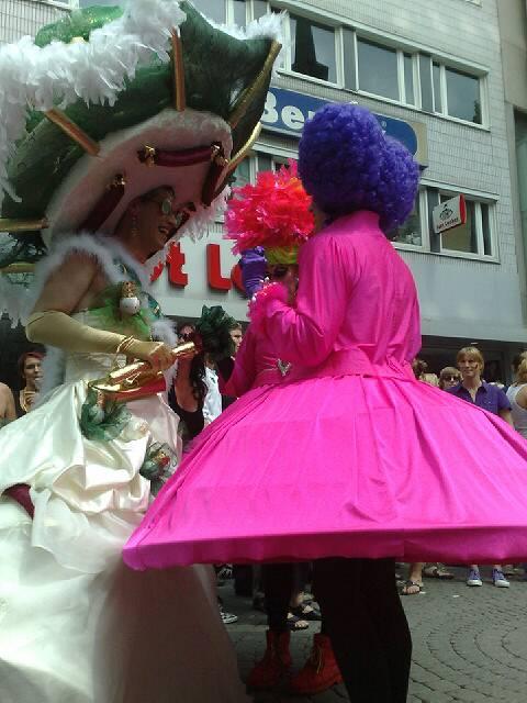 CSD - Cristopher Street Day 2010 in Koeln (Live Foto)