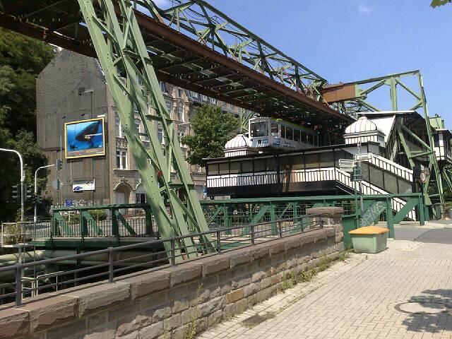 Do 25.06.2009 14:56 Wuppertal Schwebebahn