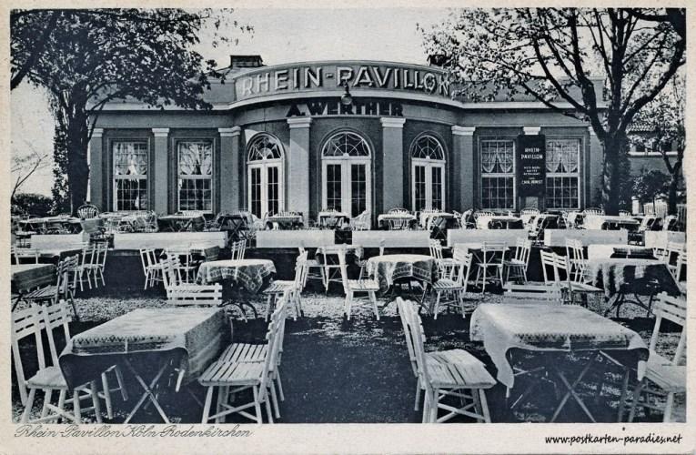 Cafe Rheinterrassen in Rodenkirchen (1911-1932)