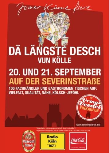 Dä längste Desch vun Kölle - 20./21.09.2014