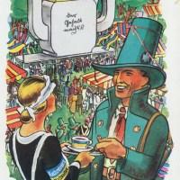 Schützenfest in alten Postkarten