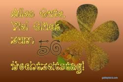 Goldene Hochzeit Karte Goldkonfetti