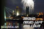 Grüße zum Neuen Jahr, Feuerwerk über Köln und Rhein