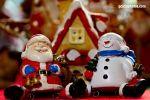 Weihnachtsmann un d Schneemann
