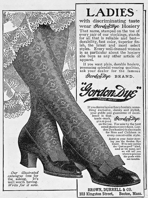 Edwardian stockings