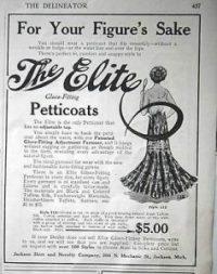 1908 petticoat ad